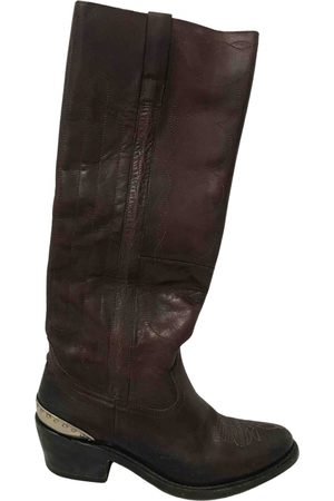 Golden Goose Leather Boots