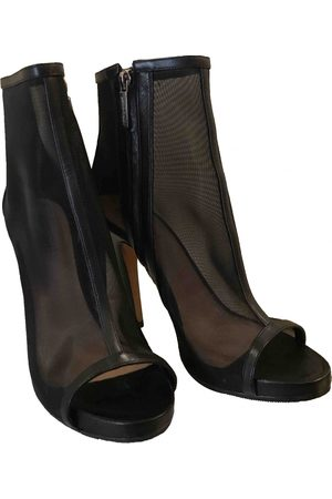 GIANNA MELIANI Cloth open toe boots