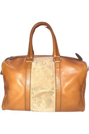Dior Camel Leather Handbags