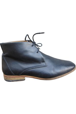Surface to Air Leather Boots