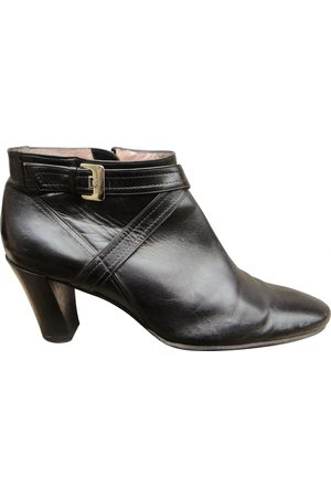 Fratelli Rossetti Leather buckled boots