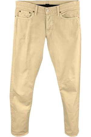 Vince Khaki Cotton Shorts