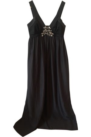 Lanvin Grey Silk Dresses