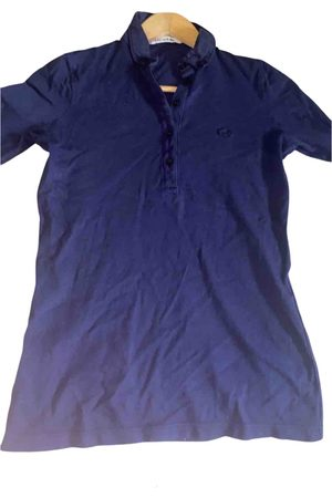 Lacoste Navy Cotton Top