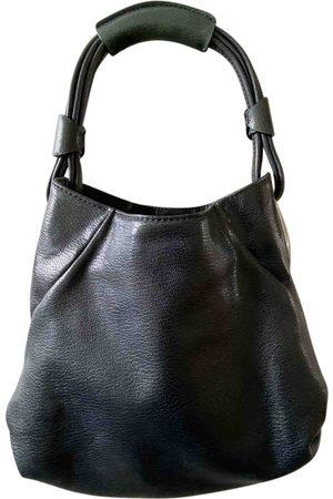 Oroton Navy Leather Handbags