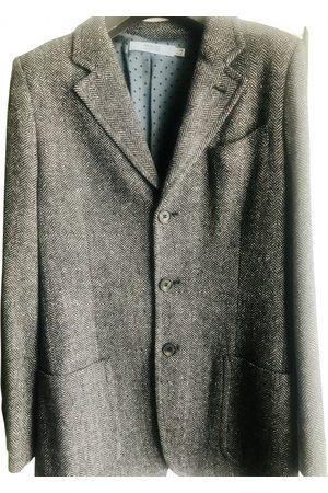RED Valentino Men Jackets - Grey Wool Jackets