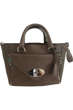 MULBERRY Willow leather handbag