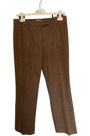 GUY LAROCHE Wool Trousers
