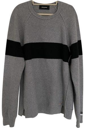 Dsquared2 Grey Cashmere Knitwear & Sweatshirts