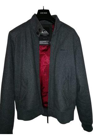 Quiksilver Grey Wool Jackets