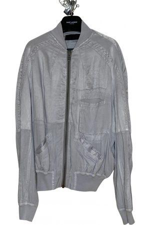 Haider Ackermann Grey Silk Jackets