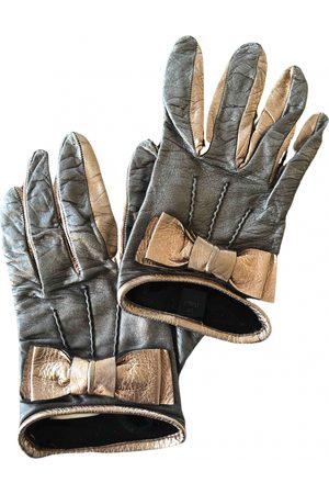 Miu Miu Grey Gloves