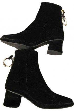 Reike Nen Velvet ankle boots