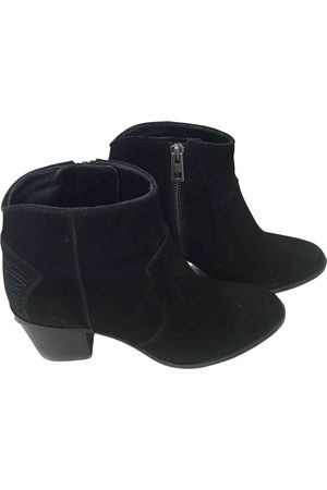 Zadig & Voltaire Women Ankle Boots - Suede Ankle Boots