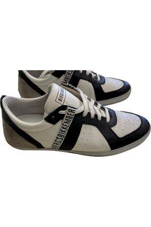 DIRK BIKKEMBERGS Leather Trainers