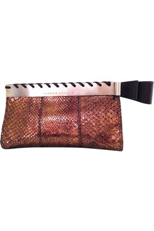 TANNER KROLLE Metallic Exotic leathers Clutch Bags