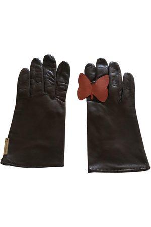 Irina Volkonskii Leather Gloves