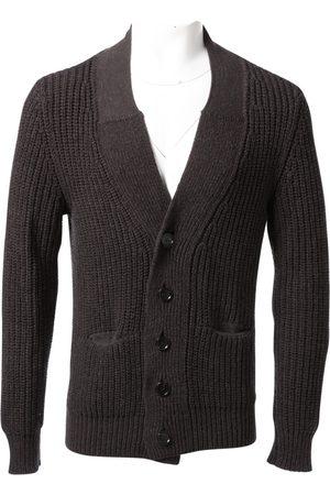 KRIS VAN ASSCHE Grey Wool Knitwear & Sweatshirts