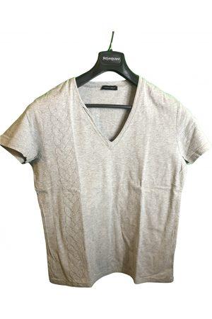 KRIS VAN ASSCHE Grey Cotton T-Shirts