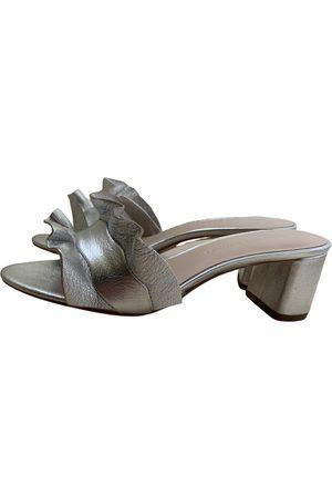 Loeffler Randall Leather mules