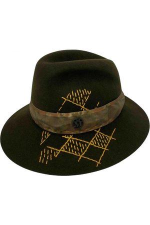 Le Mont St Michel Khaki Wool Hats