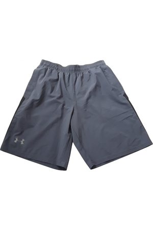 Under Armour Grey Polyester Shorts