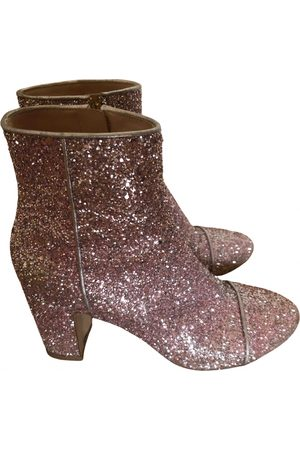 Polly Plume Glitter Boots