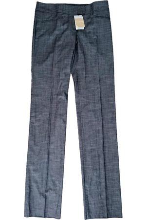 Bally Wool straight pants