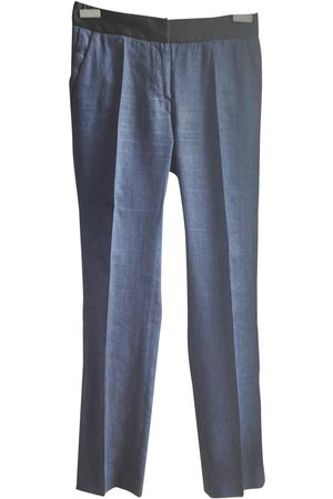 NEW YORK INDUSTRIE Linen Trousers