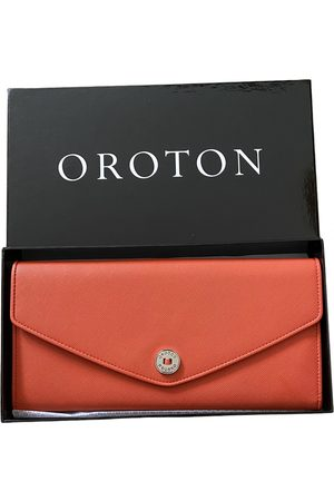 Oroton Leather Clutch Bags