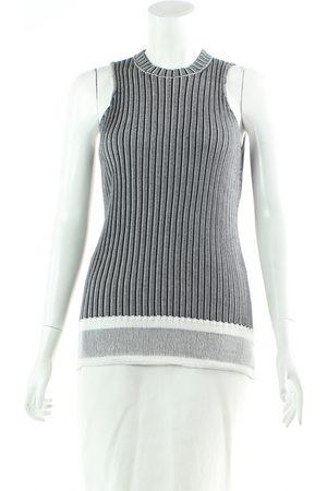 Victoria Beckham Grey Cotton Jumpsuits