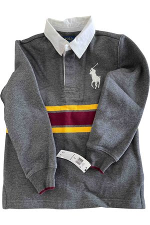 Polo Ralph Lauren Grey Cotton Tops