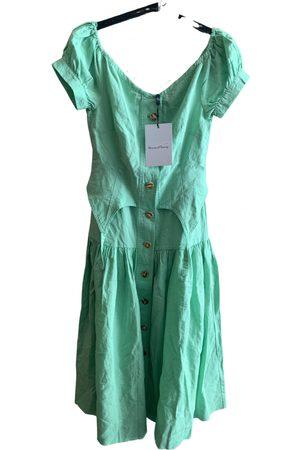 House of sunny Women Midi Dresses - Linen mid-length dress