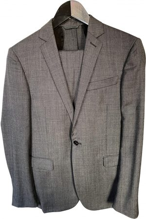 Costume National Grey Wool Suits