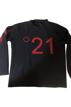 No. 21 Navy Wool Knitwear & Sweatshirts