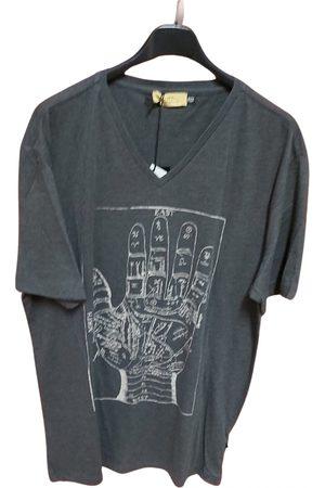 Costume National Men T-shirts - Grey Cotton T-Shirts