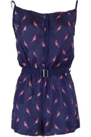 Marc Jacobs Women Jumpsuits - Navy Silk Jumpsuits