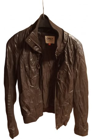 ONLY Women Leather Jackets - Leather Leather Jackets