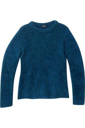 RAF SIMONS Turquoise Wool Knitwear & Sweatshirts