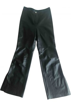 Escada Leather trousers