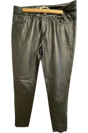 Esprit Leather Trousers