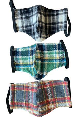 GREG LAUREN Multicolour Cotton Scarves & Pocket Squares