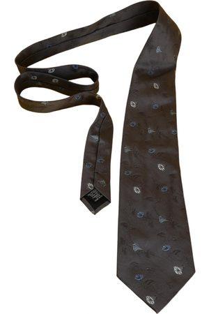 Emanuel Ungaro Grey Silk Ties