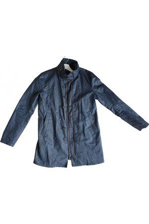 John Varvatos Navy Linen Jackets