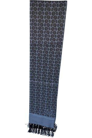 Dolce & Gabbana Men Pocket Squares - Grey Silk Scarves & Pocket Squares