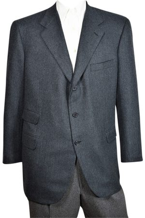 BRIONI Grey Cashmere Jackets