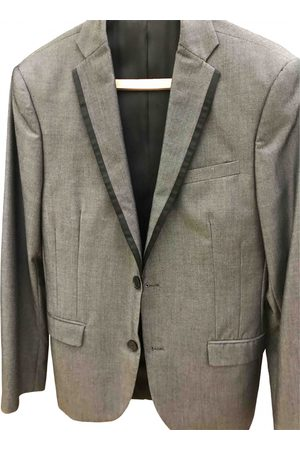Celio Anthracite Viscose Suits