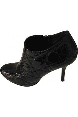Dior Women Ankle Boots - Patent leather ankle boots