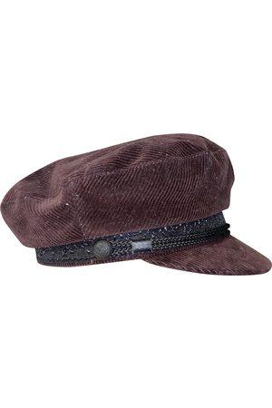 The Kooples Burgundy Cotton Hats