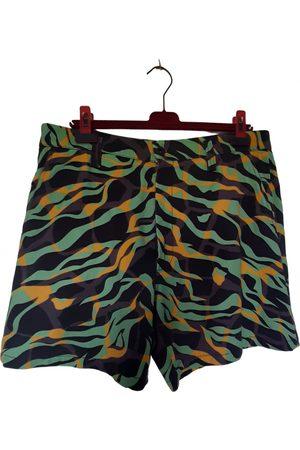 Roberto Cavalli Multicolour Cotton Shorts